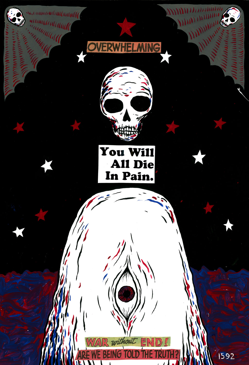 OVERWHELMING / You Will All Die In Pain.