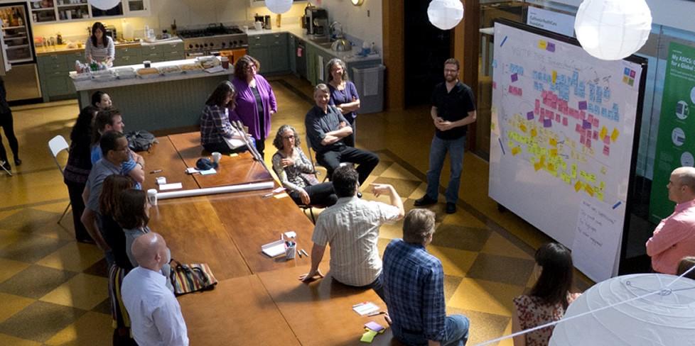 Co-creation workshop at Adaptive Pat