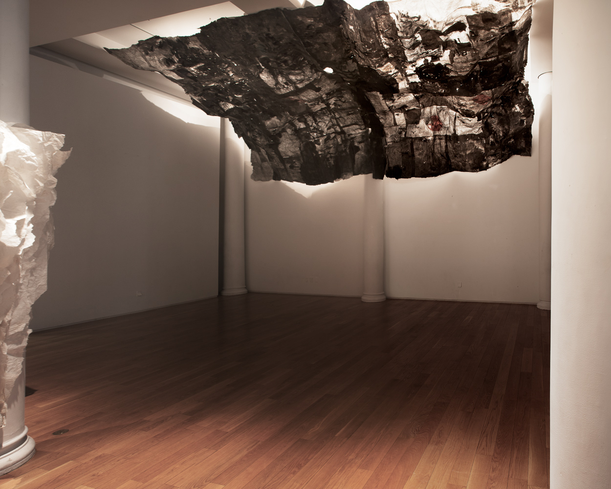 Lin Yan: Dispelling the Clouds installation view. Photography by Jiaxi Yang, courtesy Fou Gallery.