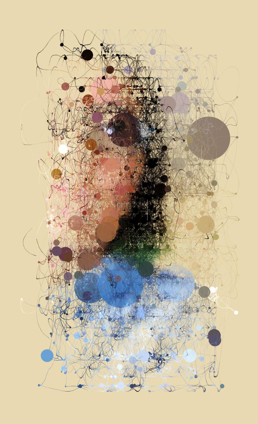 Random Walker  , archival print on Epson Ultra-smooth fine art paper, 10 x 8 in.  ,2016