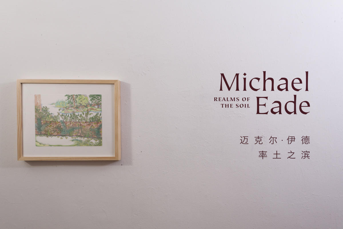 Michael Eade: Realms of the Soil installation view. Photograph by Eugene Neduv. © 2017 Michael Eade, courtesy Fou Gallery.