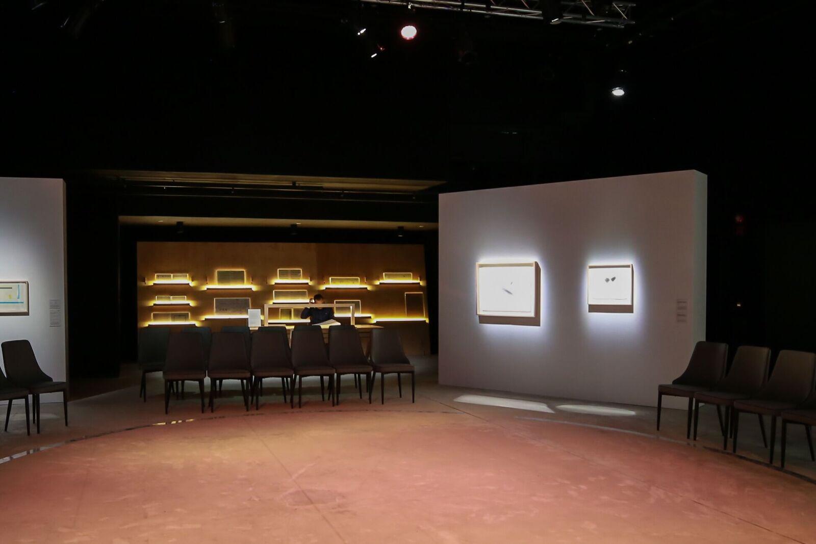 Notating Beauty That Moves Exhibition and Opening Concert, ArtisTree, Hong Kong, March 3, 2018. Courtesy Hong Kong Sinfonietta Limited 《谱写动态的美》展览现场图,ArtisTree, 香港,2018.3.3. 致谢香港小交响乐团