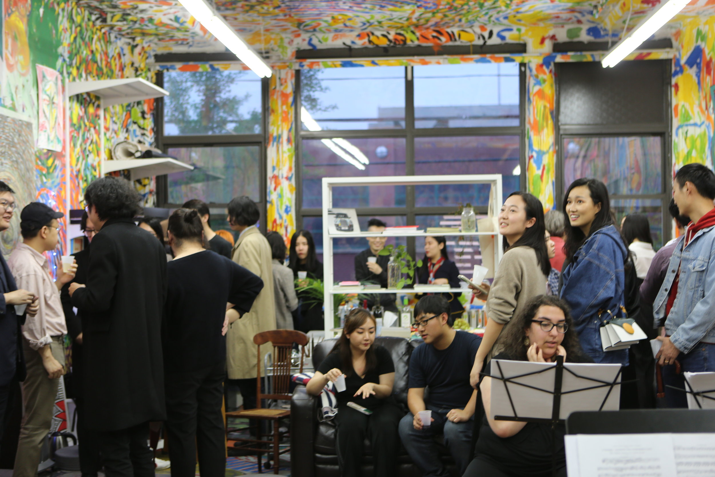 Nevermore - Music Concert  with The Lumisade Quintet at Chen Dongfan Studio. Photograph by Inna Xu.  昨夜星辰昨夜风 - 木管五重奏音乐会@陈栋帆工作室,摄影:徐益英.