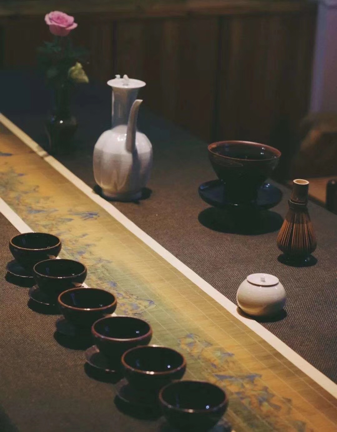 Song Dynasty Style Jian Zhan. 仿古建盏
