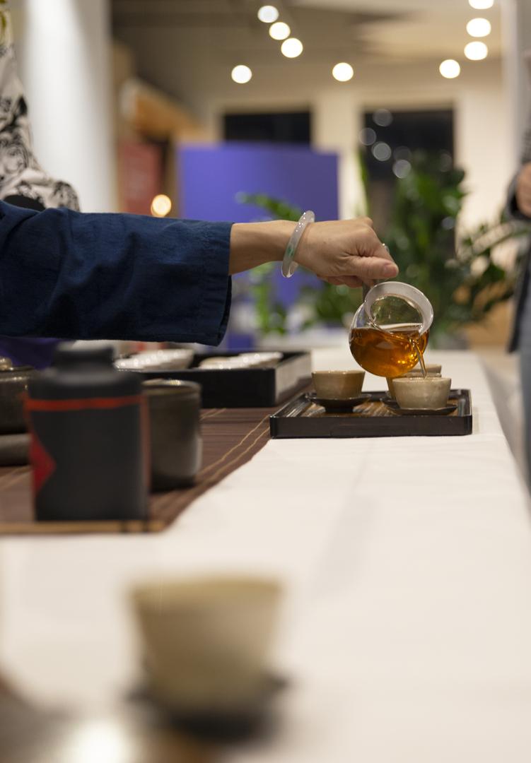 Tea Ceremony at Wix, photographed by Yotam Kellner
