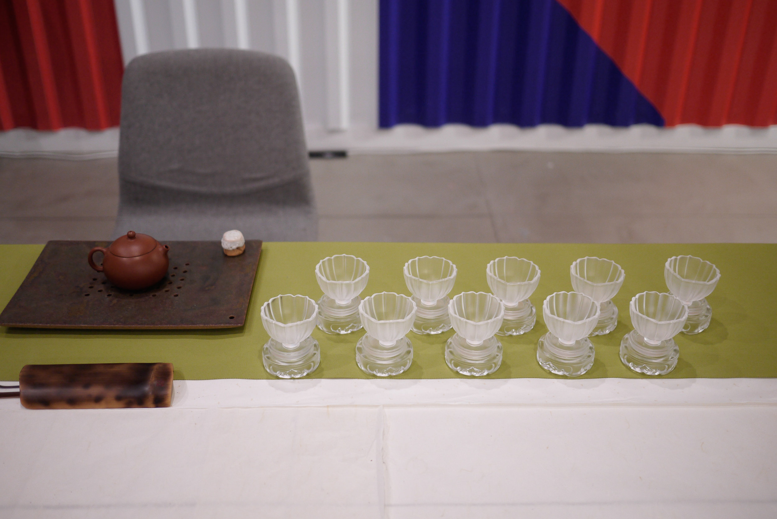 Tea Ceremony at Wix, photographed by Michele Fan