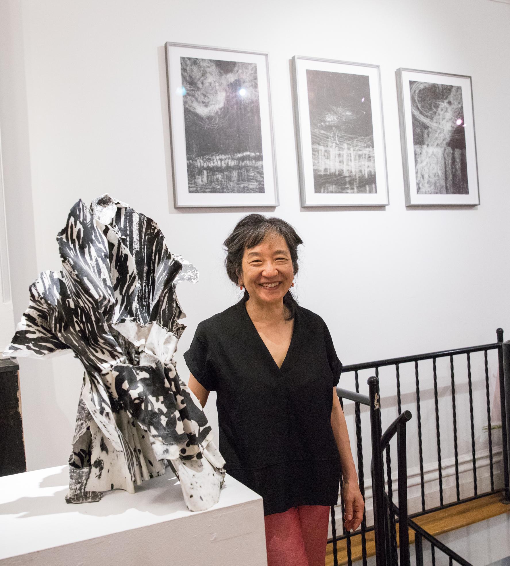 Hilda Shen portrait ©Hilda Shen, courtesy Fou Gallery 沈禾美肖像 ©沈禾美,致谢否画廊