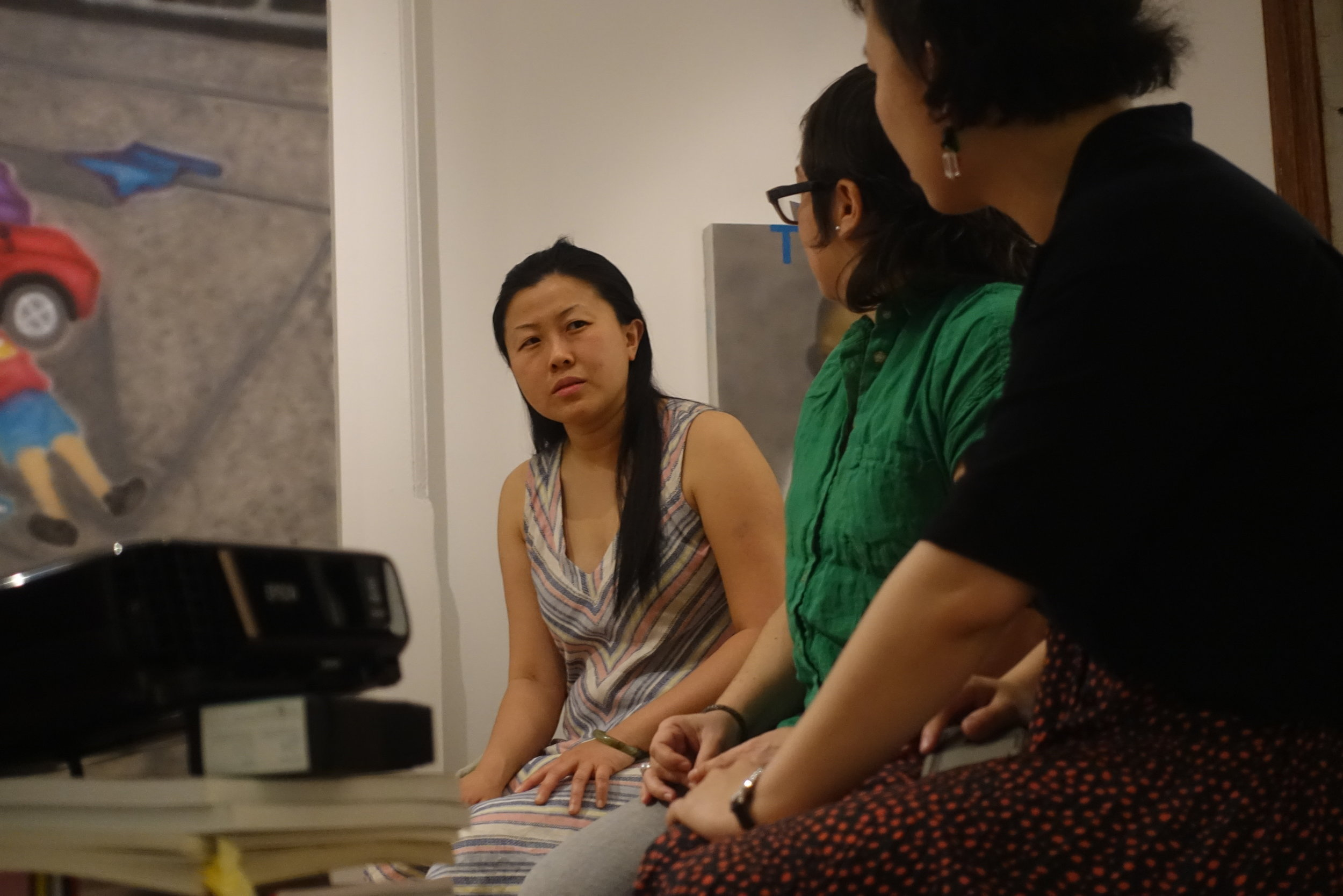 Stories of Space : Independent Short Films Night, photograph by Yilan Wang, courtesy Fou Gallery.
