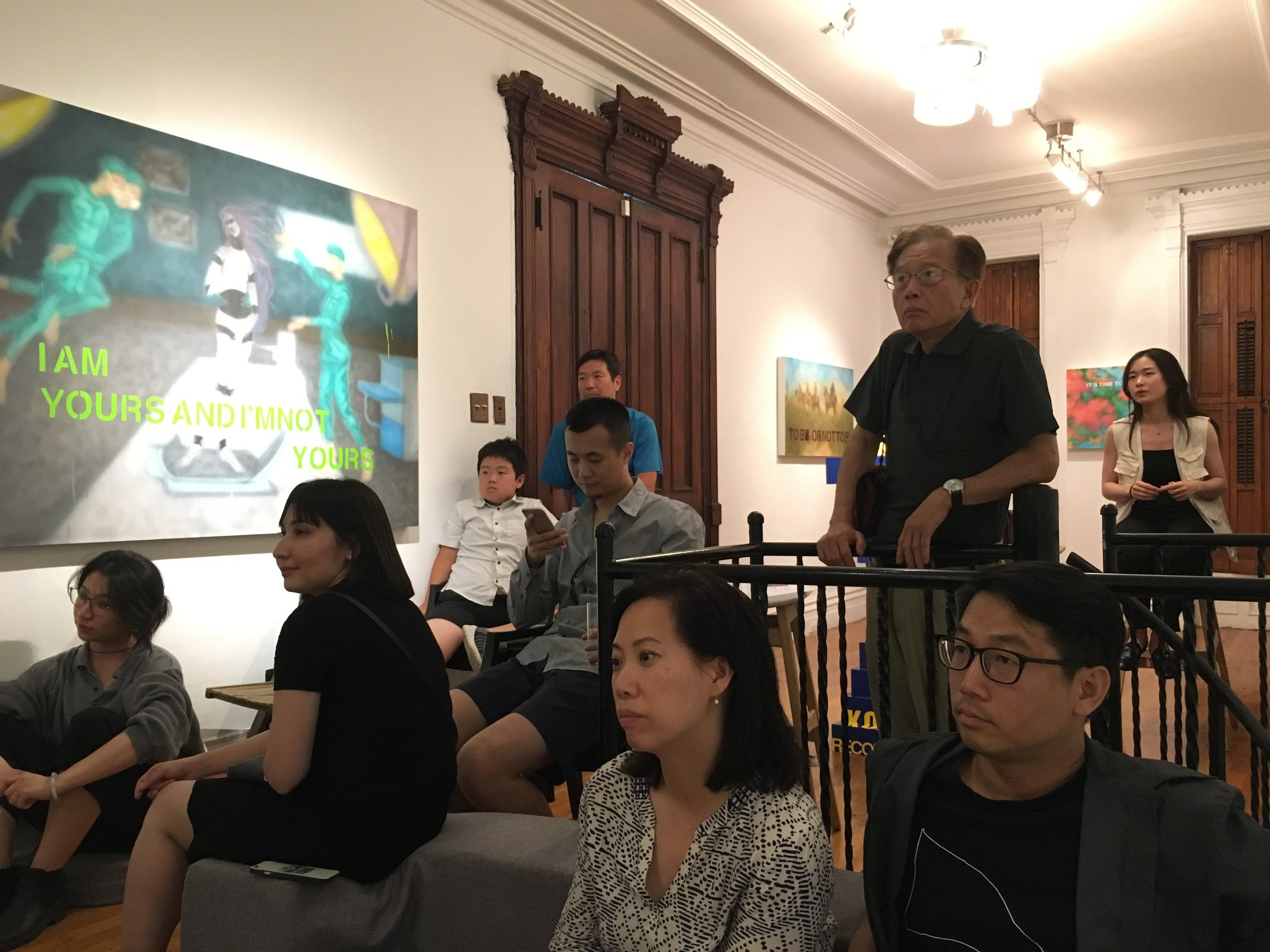 Stories of Space : Independent Short Films Night, photograph by Siyuan Tan, courtesy Fou Gallery.