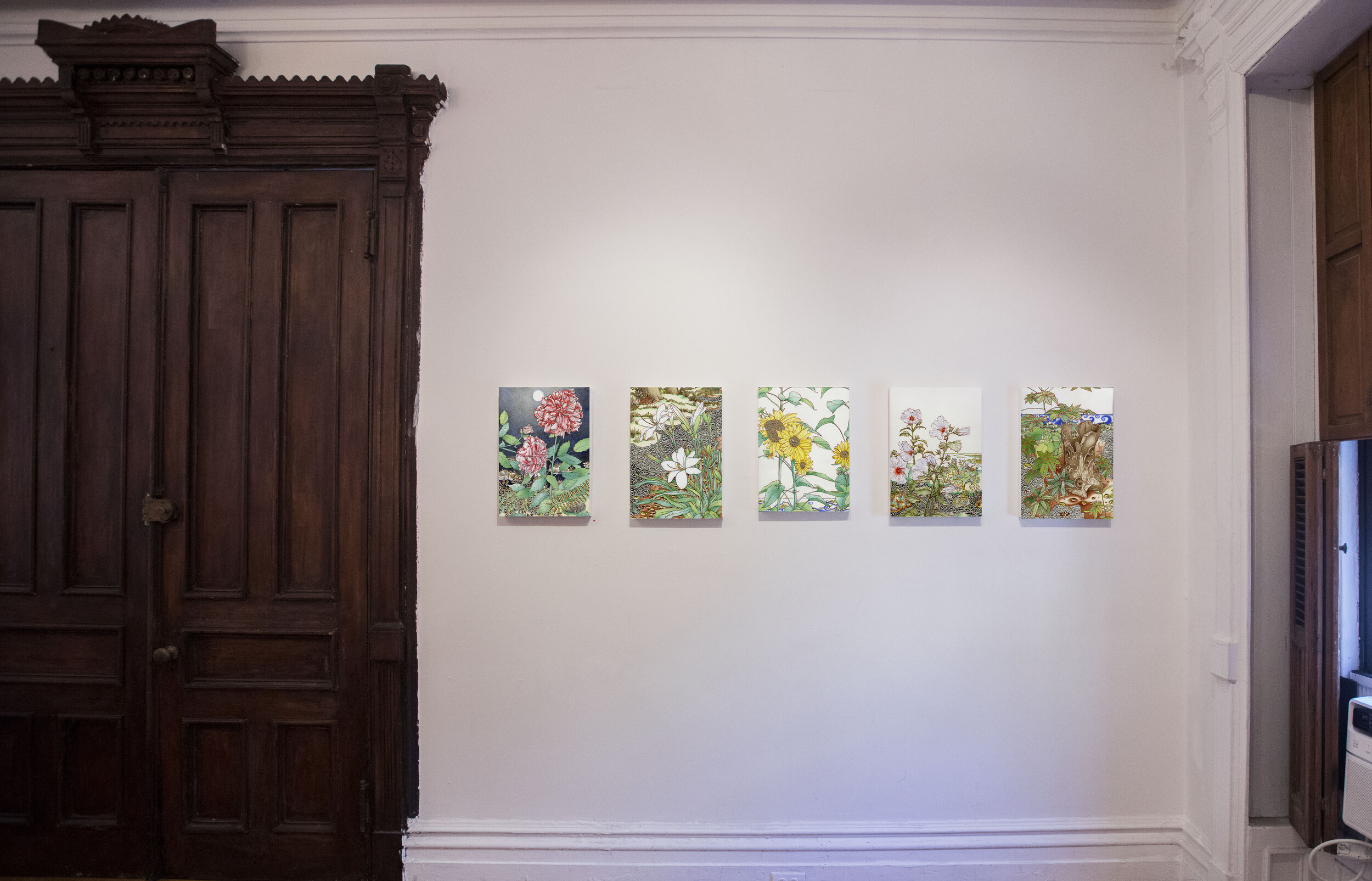Micheal Eade: past is present is future  installation view. Photograph by Nadia Peichao Lin. © Micheal Eade, courtesy Fou Gallery.