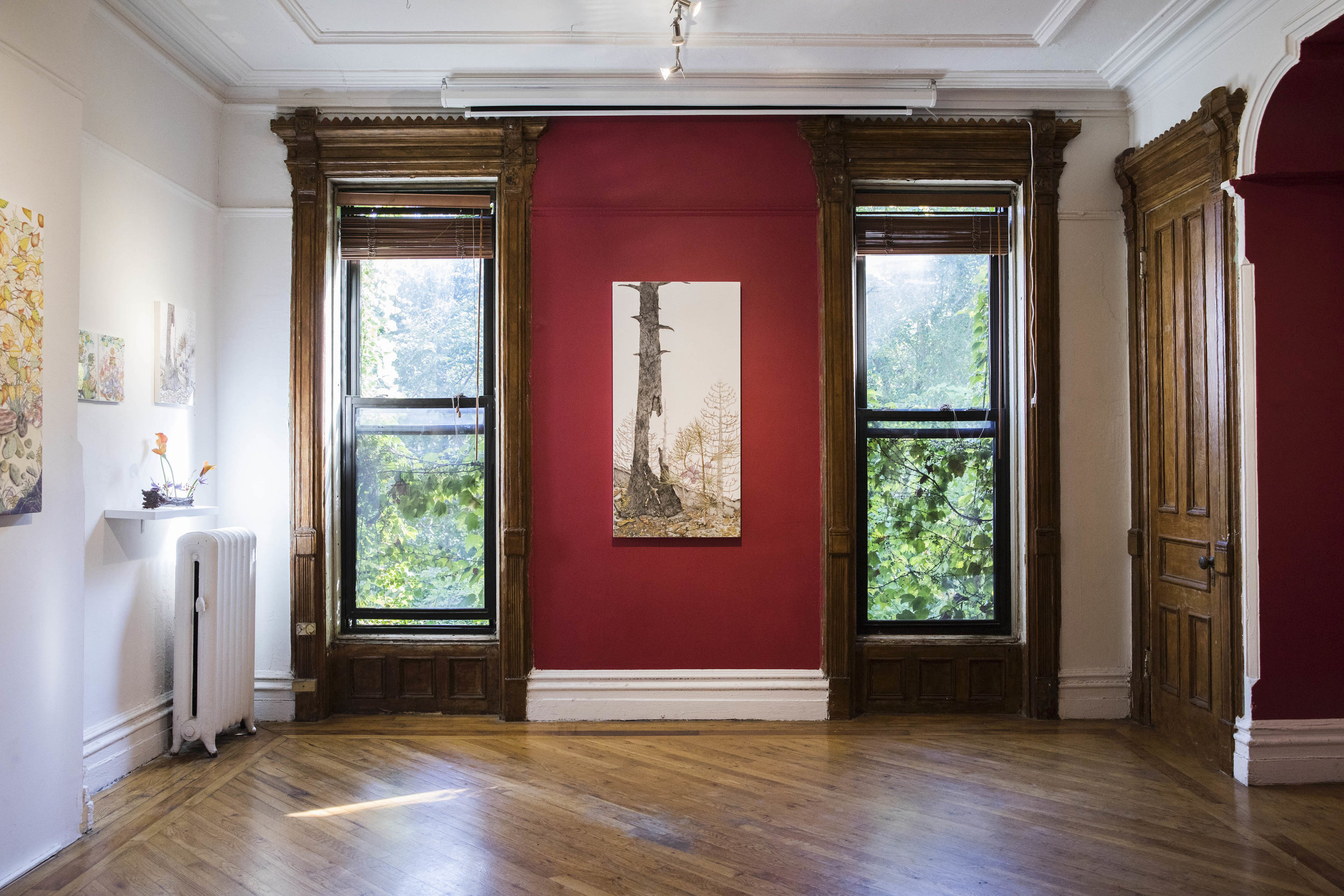 Installation view of  Micheal Eade: past is present is future , photo credit to Nadia Peichao Lin, © Micheal Eade, Courtesy Fou Gallery.