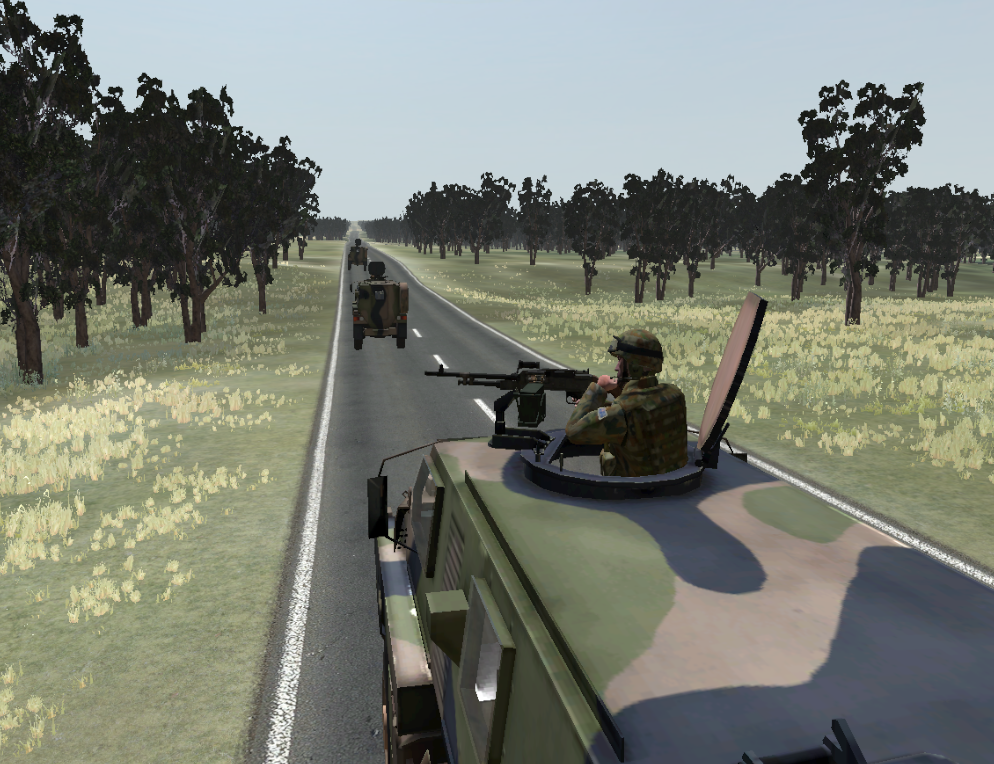 The PMTT uses the VBS3 virtual environment which provides excellent visuals and geo-specific terrains