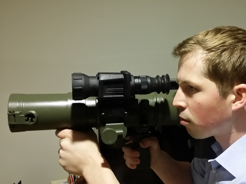 Thermal Weapon Sight for the Carl Gustav M3/M4