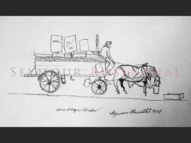 Hourse Wagon Vendor