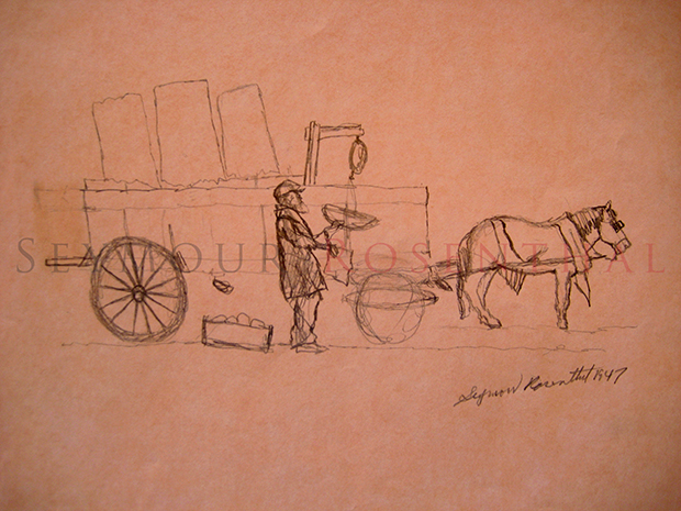 Horse Pulled Cart