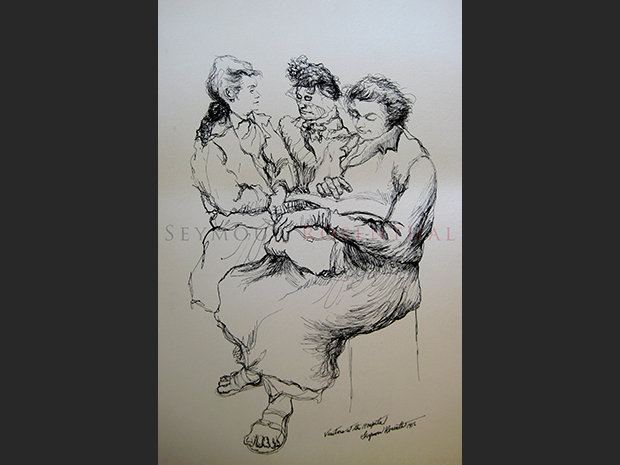 Vistors at the Hospital