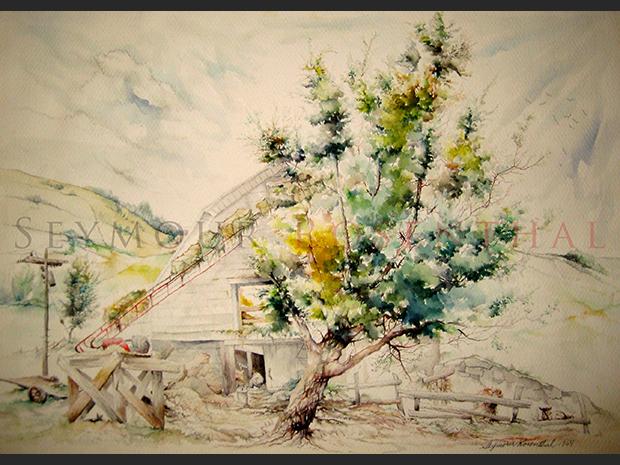 The White Barn