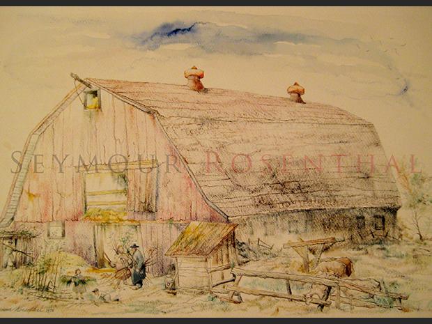 Building a Succah on a Farm