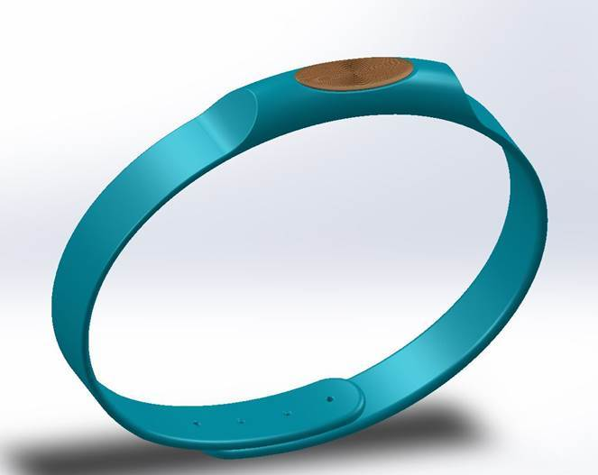 CalmLet - When you control your breath, you regain control over your body, stressful situations, and life itself. When the moment gets messy, take a breath. The Calm bracelet (CalmLet) guides you back to a sense of tranquility, control, and empowerment. As you breathe with CalmLet's guide, you will feel better, think better, and live better. One breath at a time, we can create an ideal world.