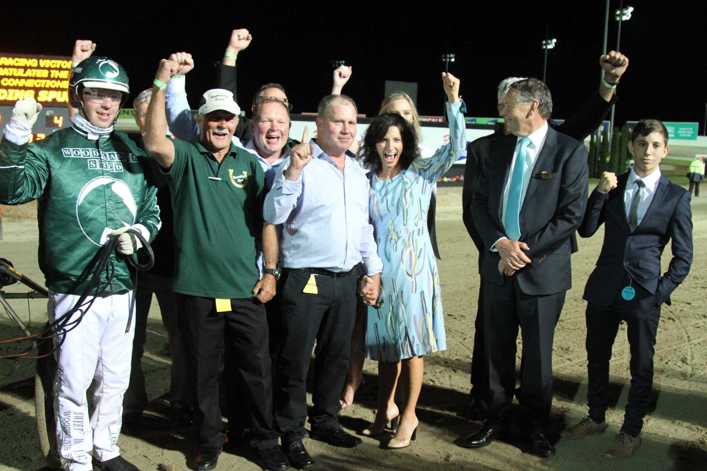 WOODLANDS PARTNERSHIP SYNDICATE 1 AFTER SPeeDING SPURS SUCCESS IN THE GROUP 1 Great Southern STar