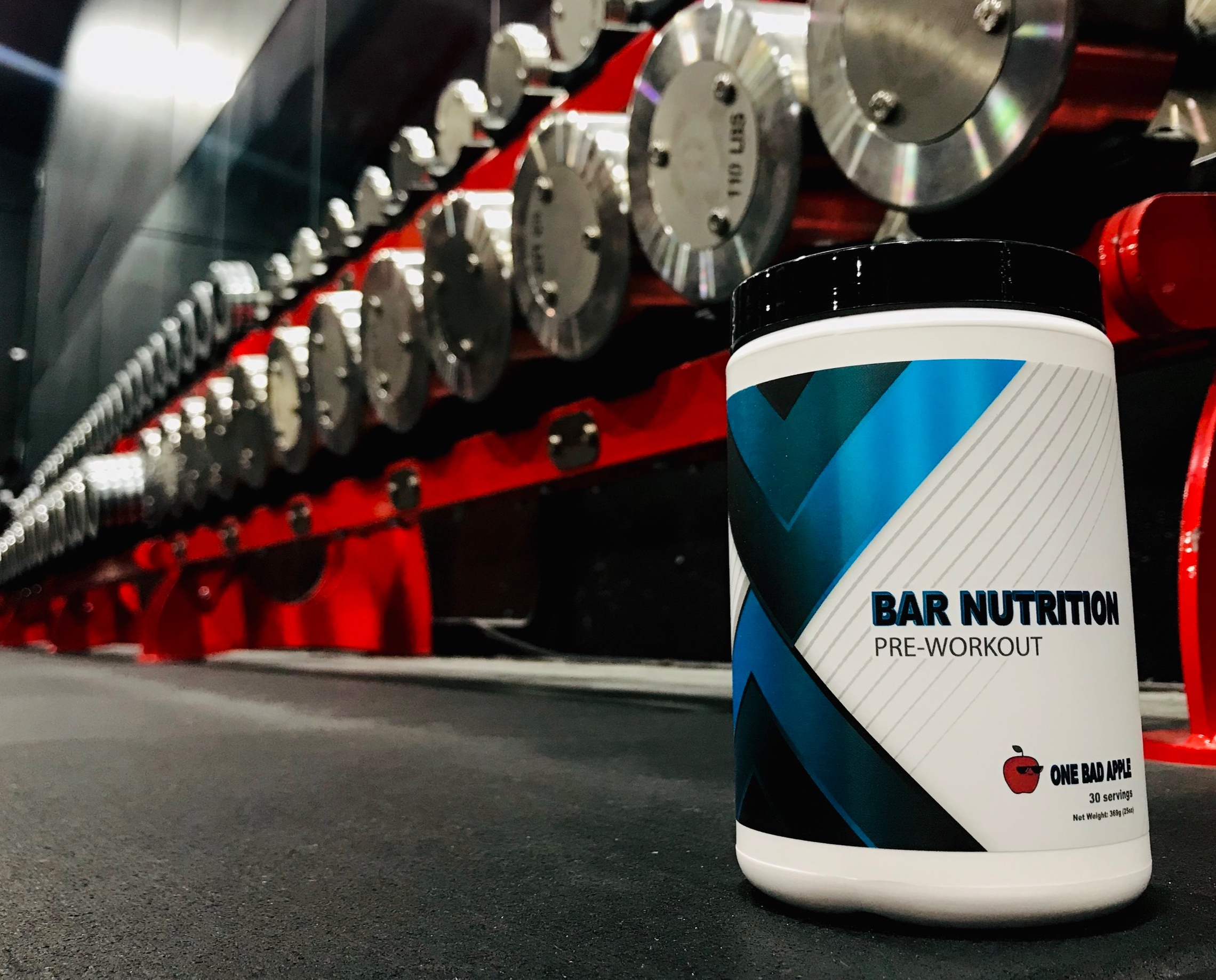 New & Improved Pre-workout - Now Available in Flavor- ONE BAD APPLE