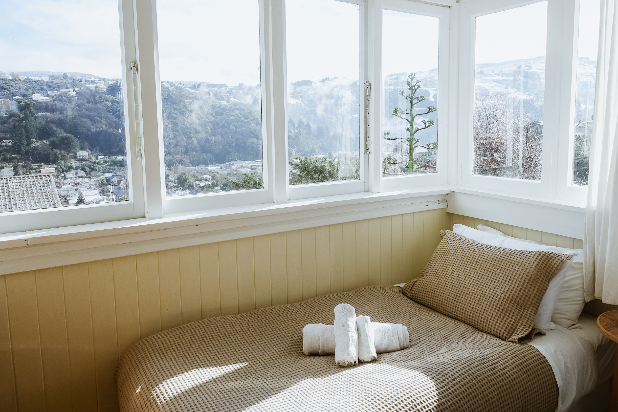 Gorgeous views overlooking the valley at Arden Street House