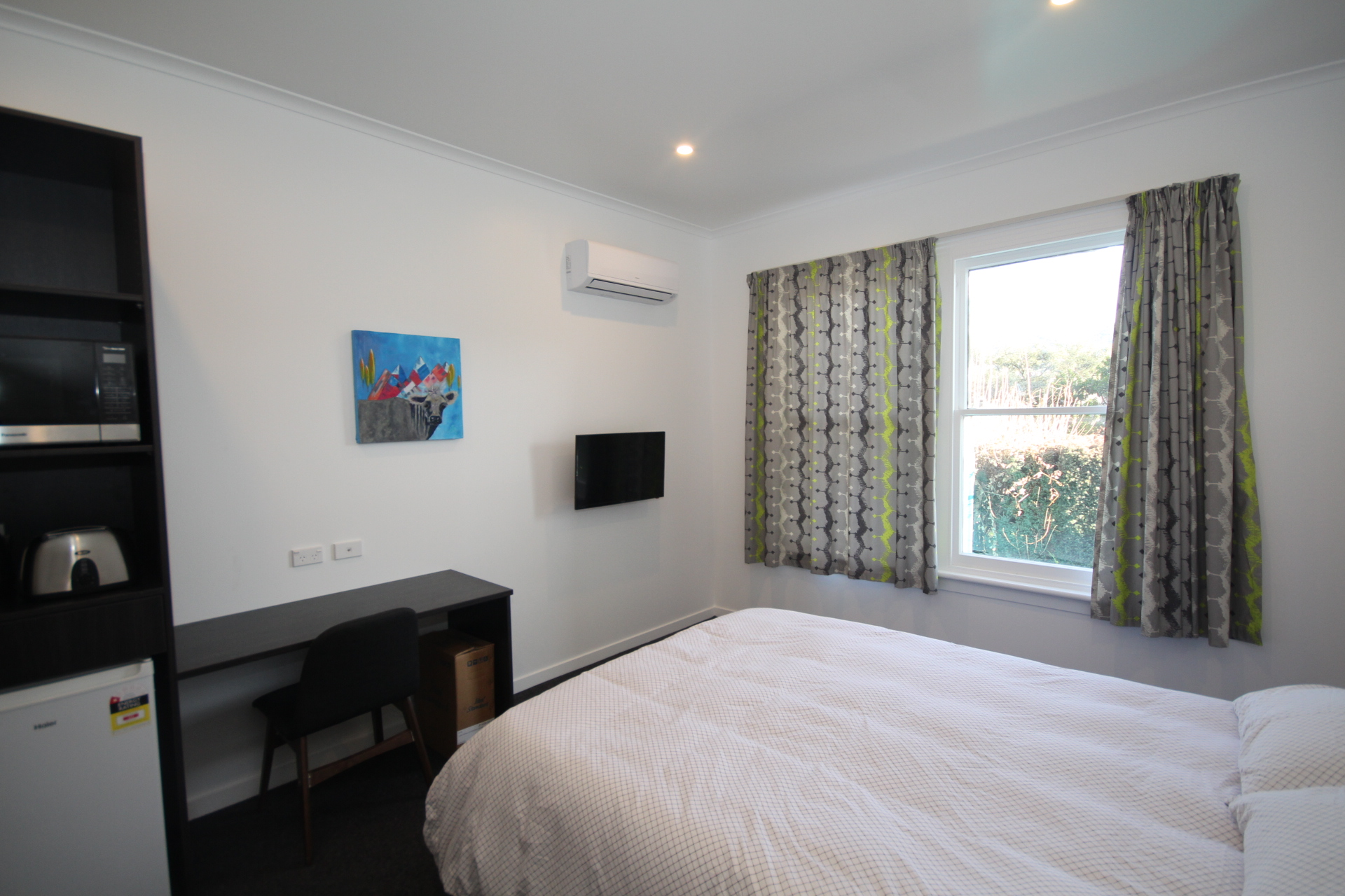 One of the Executive Studio bedrooms