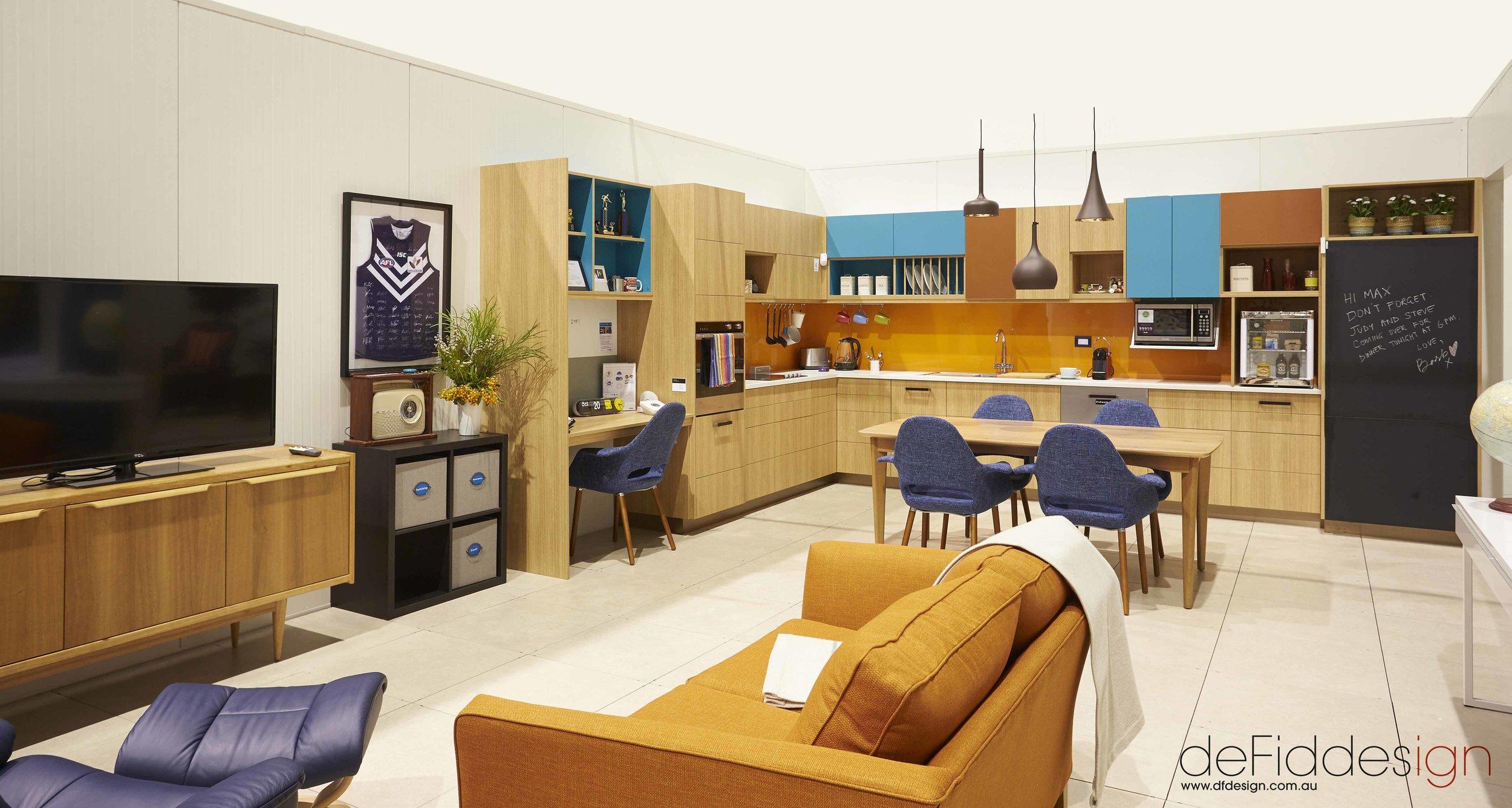 Max and Barbara's Apartment by de Fiddes Design