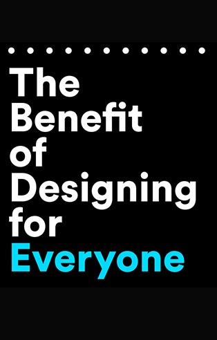 Image Courtesy of  Centre for Inclusive Design