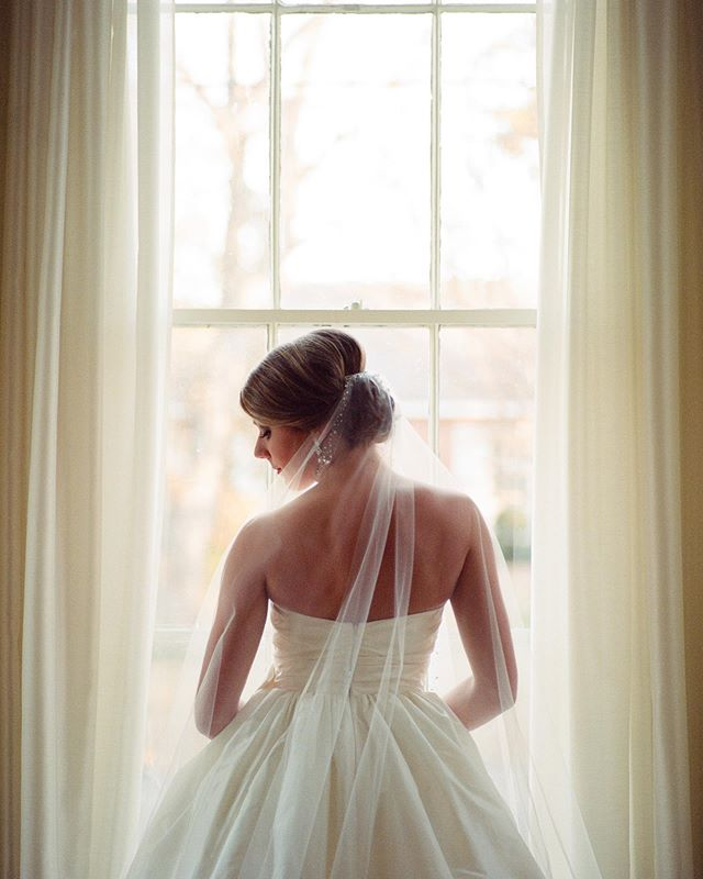 Kelsey | Bridal Session | Somewhere in Small Town Alabama #film #portra #indoors #indiefilmlab