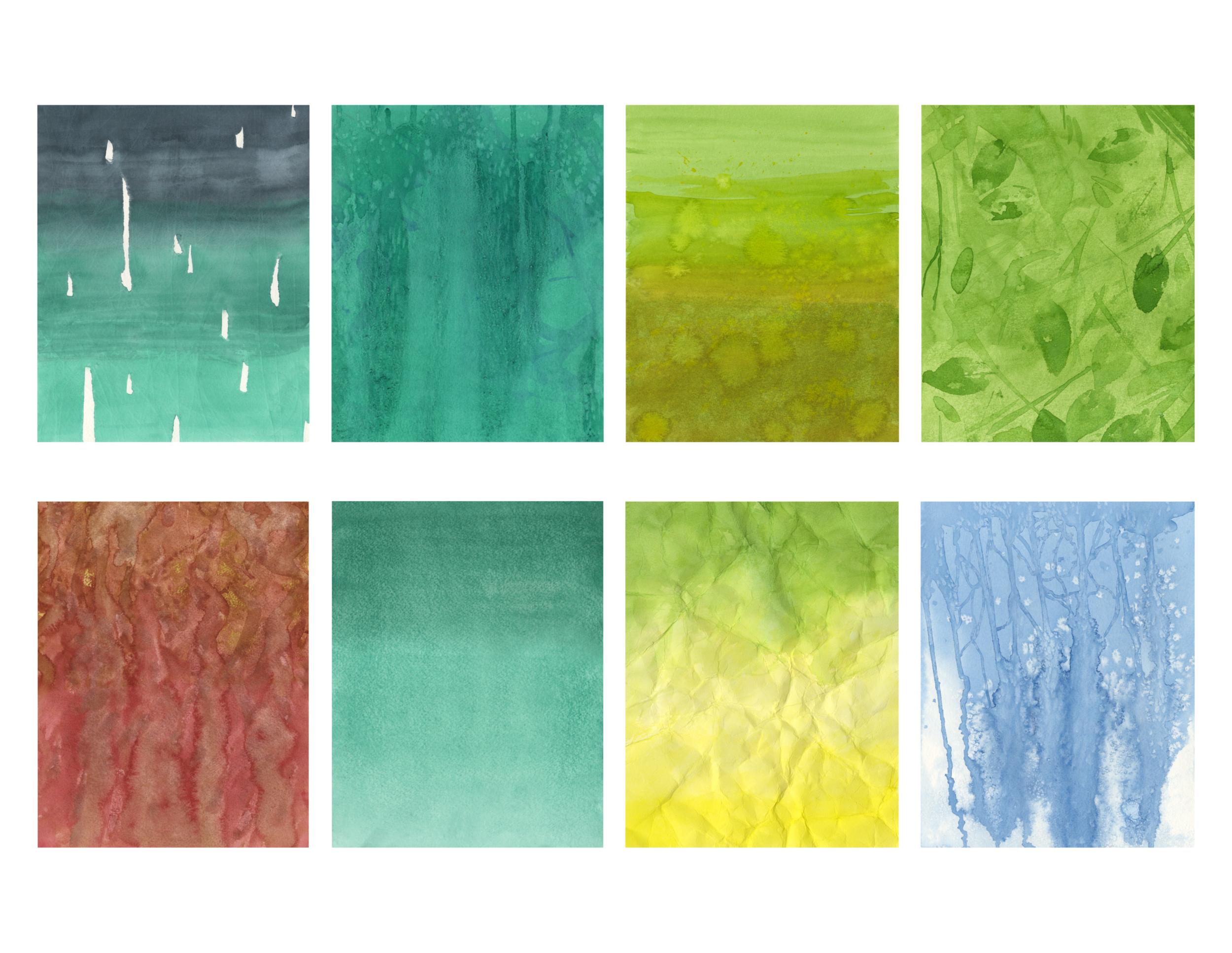 Watercolor Study II, 2015