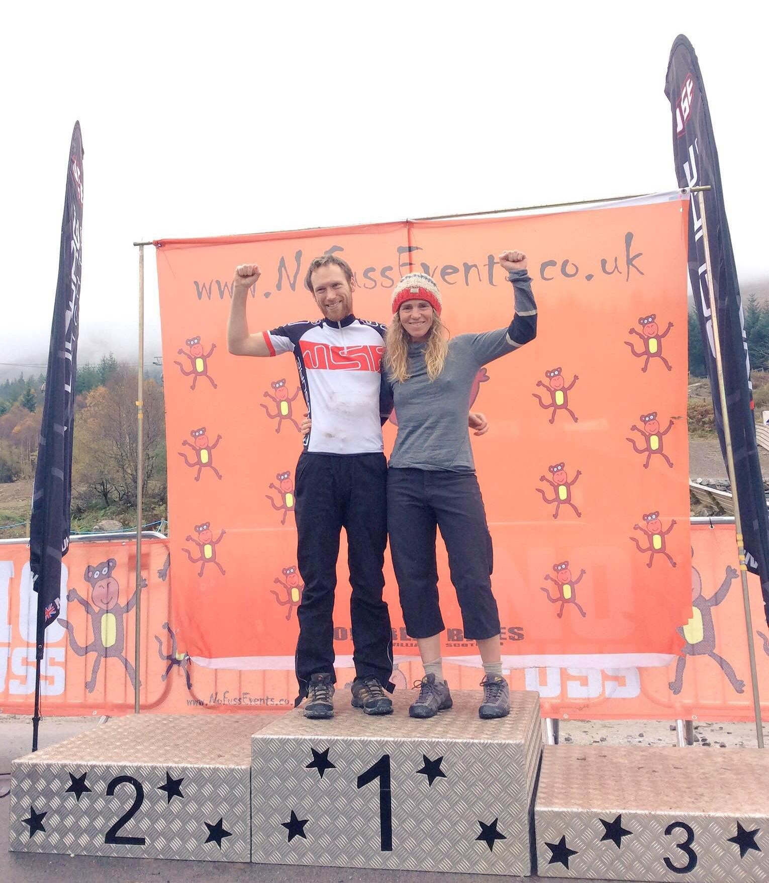 Matthew Jones and Lee Craigie 24-Hour MTB Champions