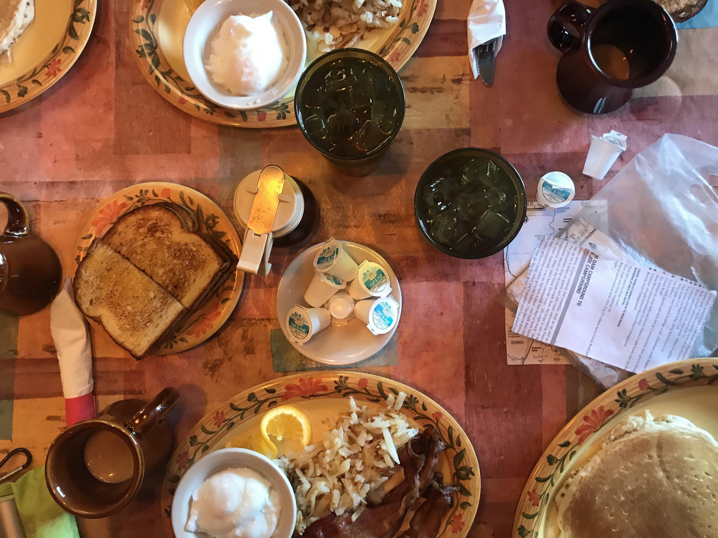 Disgusting wonderful breakfasts