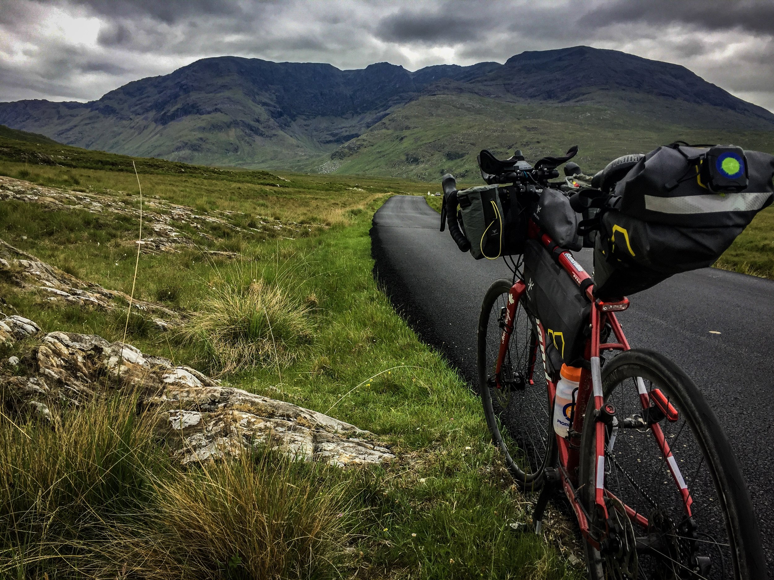 The road into Connemarra