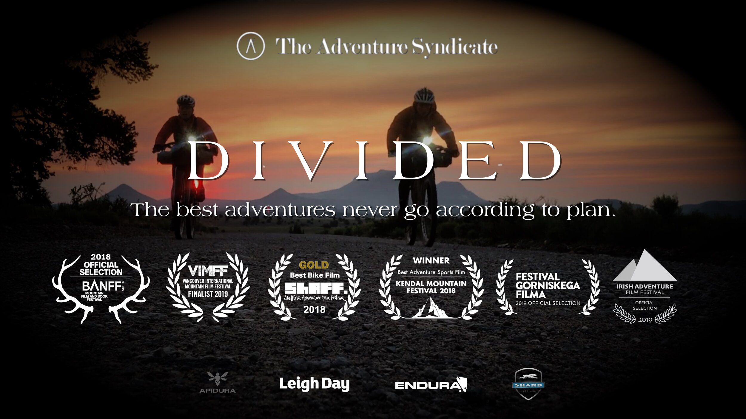Watch our Banff Film Festival nominated film Divided on demand on Vimeo. NOW!
