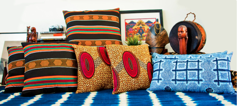 Reflektion Designs has everything you need to step your decor game up. Founder & designer Anitra Terrell designs decor for culturally inspired people who love unique, colorful pieces.