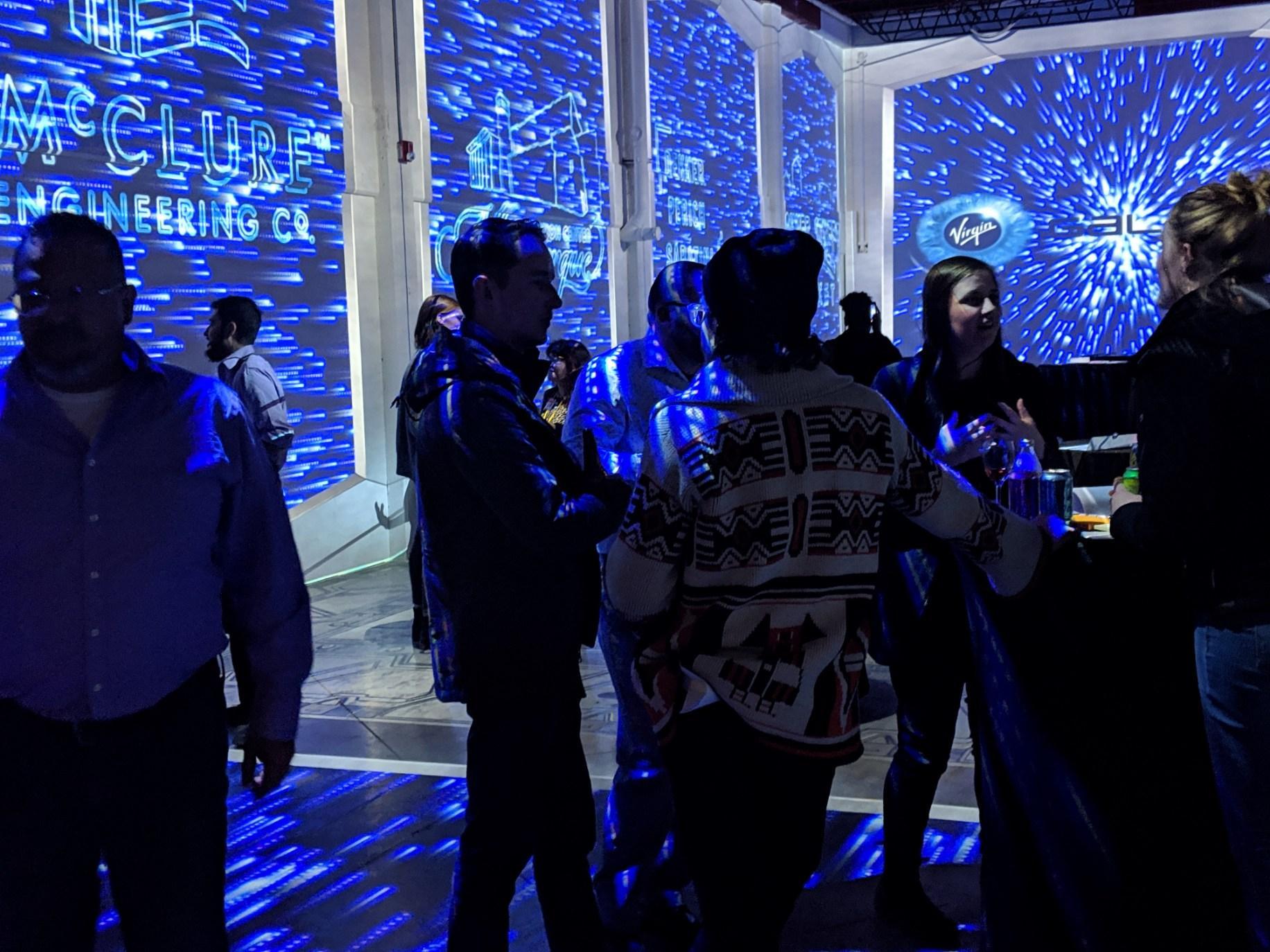 CPLS Space Returns reception @ StoryLab, 2019