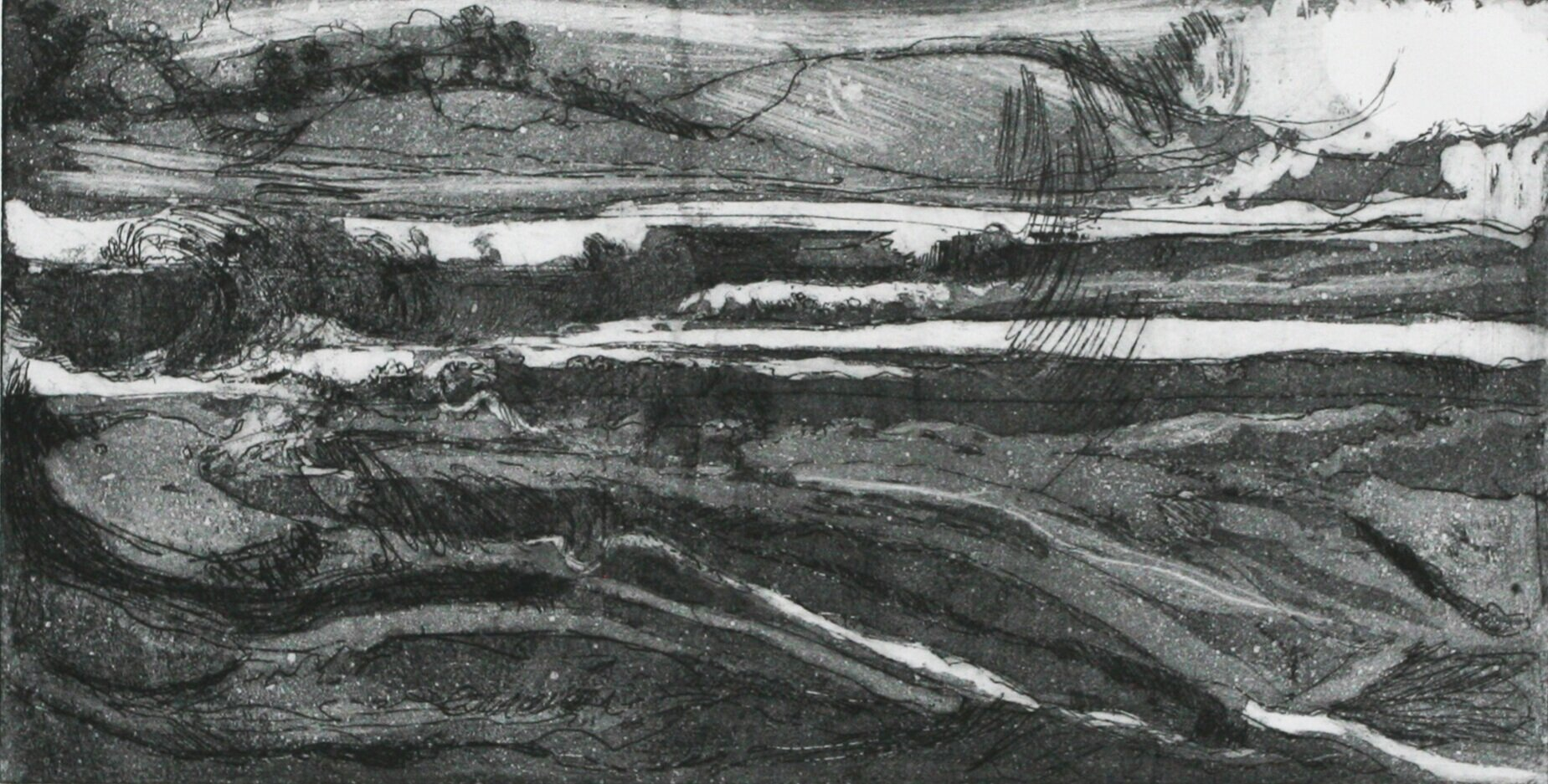 Night Watch Etching - Artists Proof