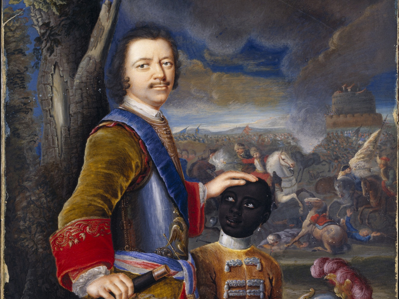Peter the Great took the Port of Azov from the Ottoman Turks. He studied shipping ports of Europe and built St. Petersburg. He fought the Great Northern War in 1721, he captured the Baltic Sea from Sweden, expanding Russia to Europe.
