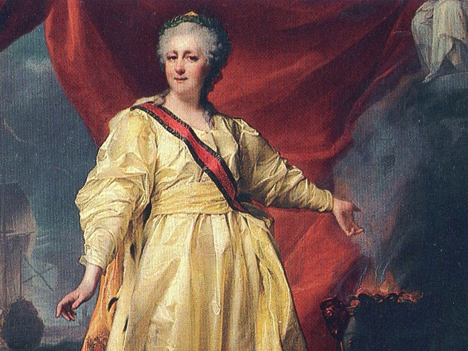 Catherine of Germany married Peter Ulrich who became czar of Russia in 1762. He admired Prussia, Russia's enemy and asked his army to wear new Prussian uniforms, so there was a coup d'etat. They took his throne to make Catherine the Great Russia's new Empress. She expanded Russia's borders, rewrote laws, improved hospitals and then gave people more rights.