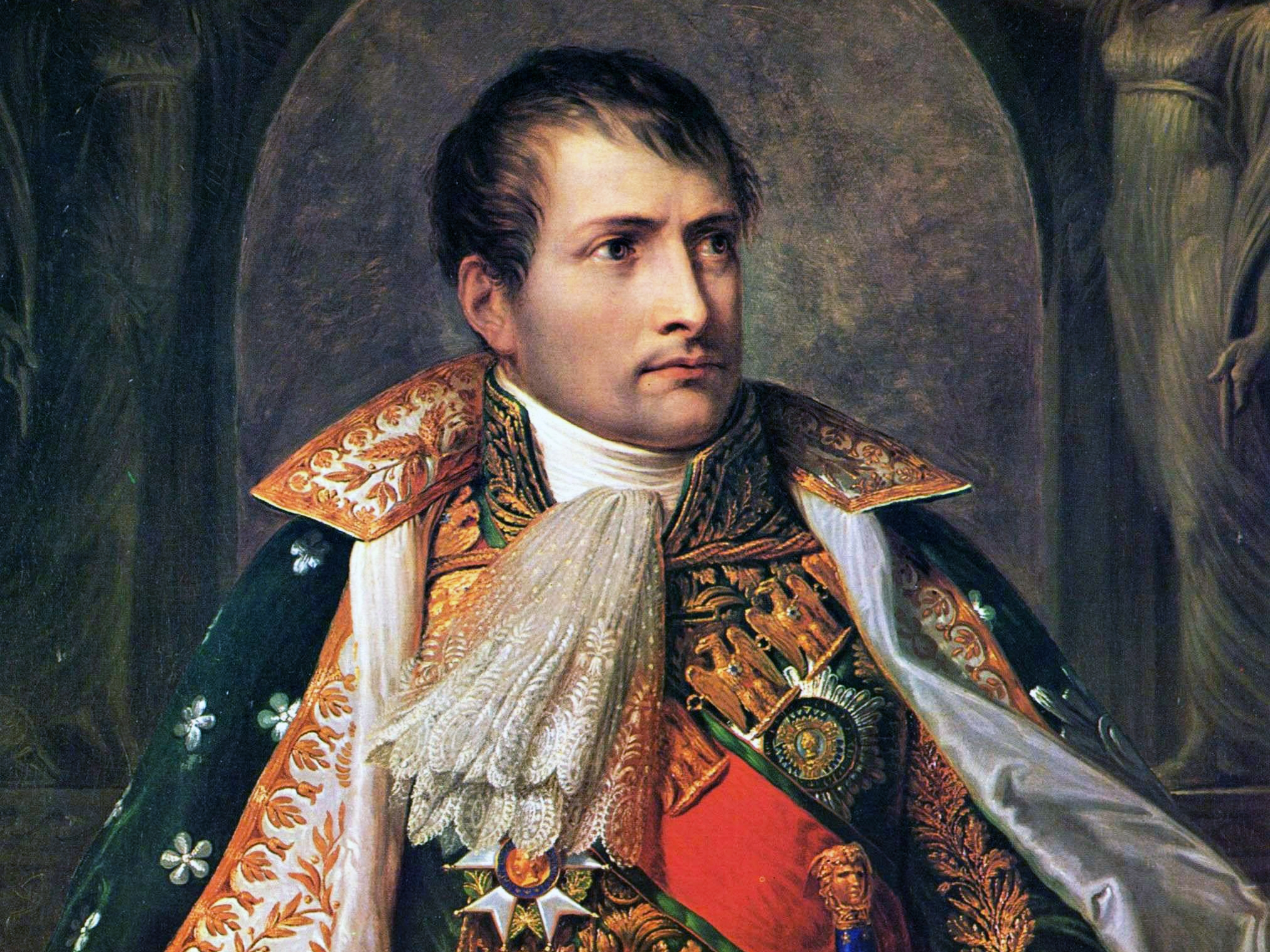 The French Directory sent Napoleon to invade Austria and Egypt. When he returned, he declared himself Consul, wrote the new French constitution. He sold Louisiana to the United States to fund his invasion on England. In 1804 he crowned himself the Emperor of the French.