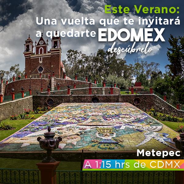 """""""Una vuelta que te invitará a quedarte""""   Copy de campaña para Secretaría de Turismo del Estado de México"""