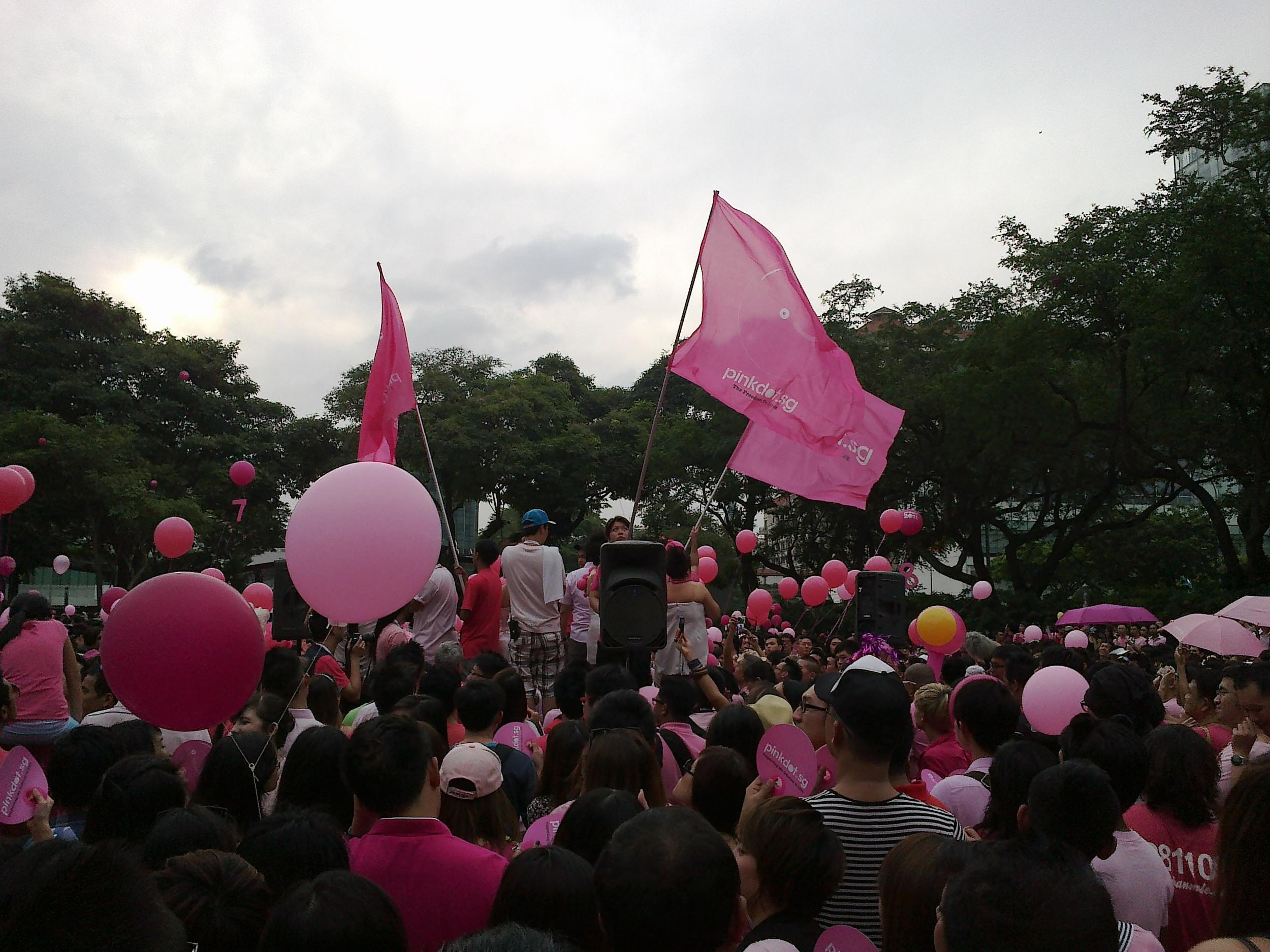 Pink Dot Singapore 2011, photo by Alvin Tan