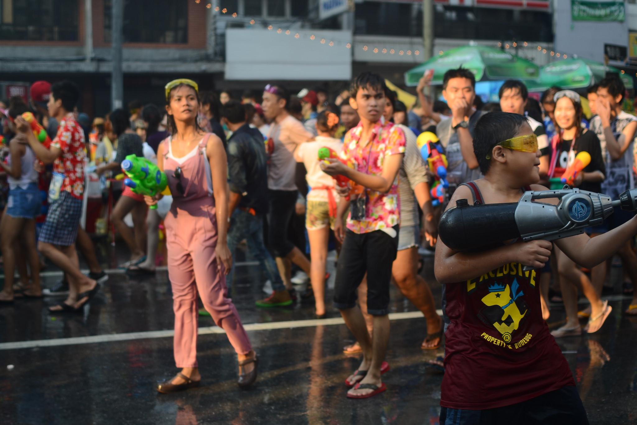 Image Credit: Songkran Bangkok / Flickr