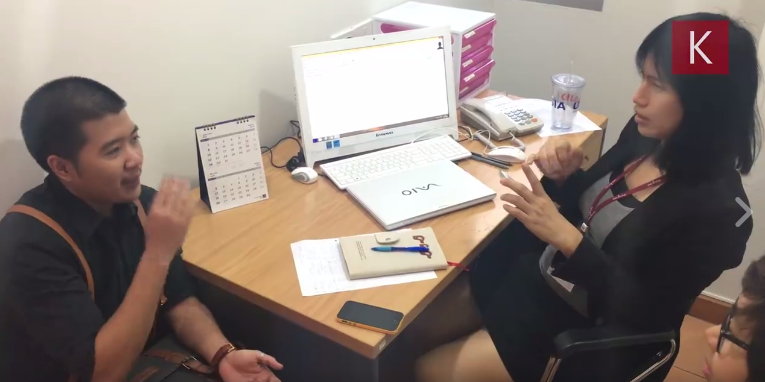 A transman at Tangerine Clinic, Asia's first transgender-specific clinic