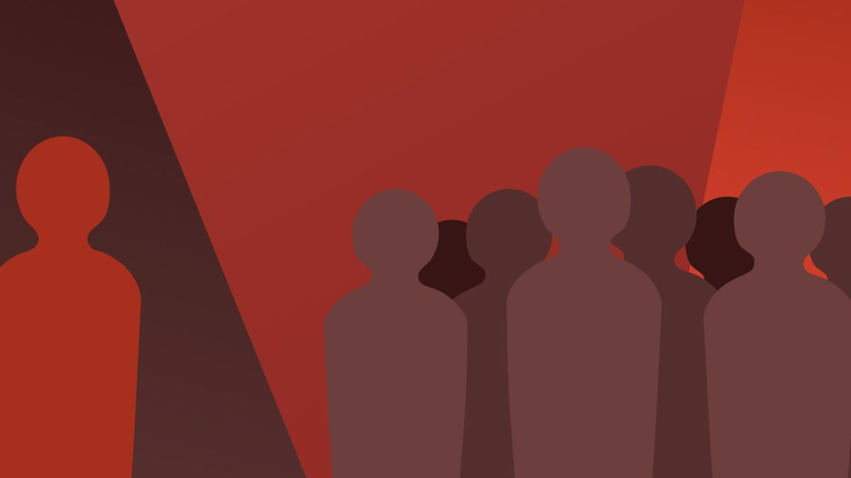Illustration credit: Vox/2014 -  People living with HIV still face enormous stigma and hate