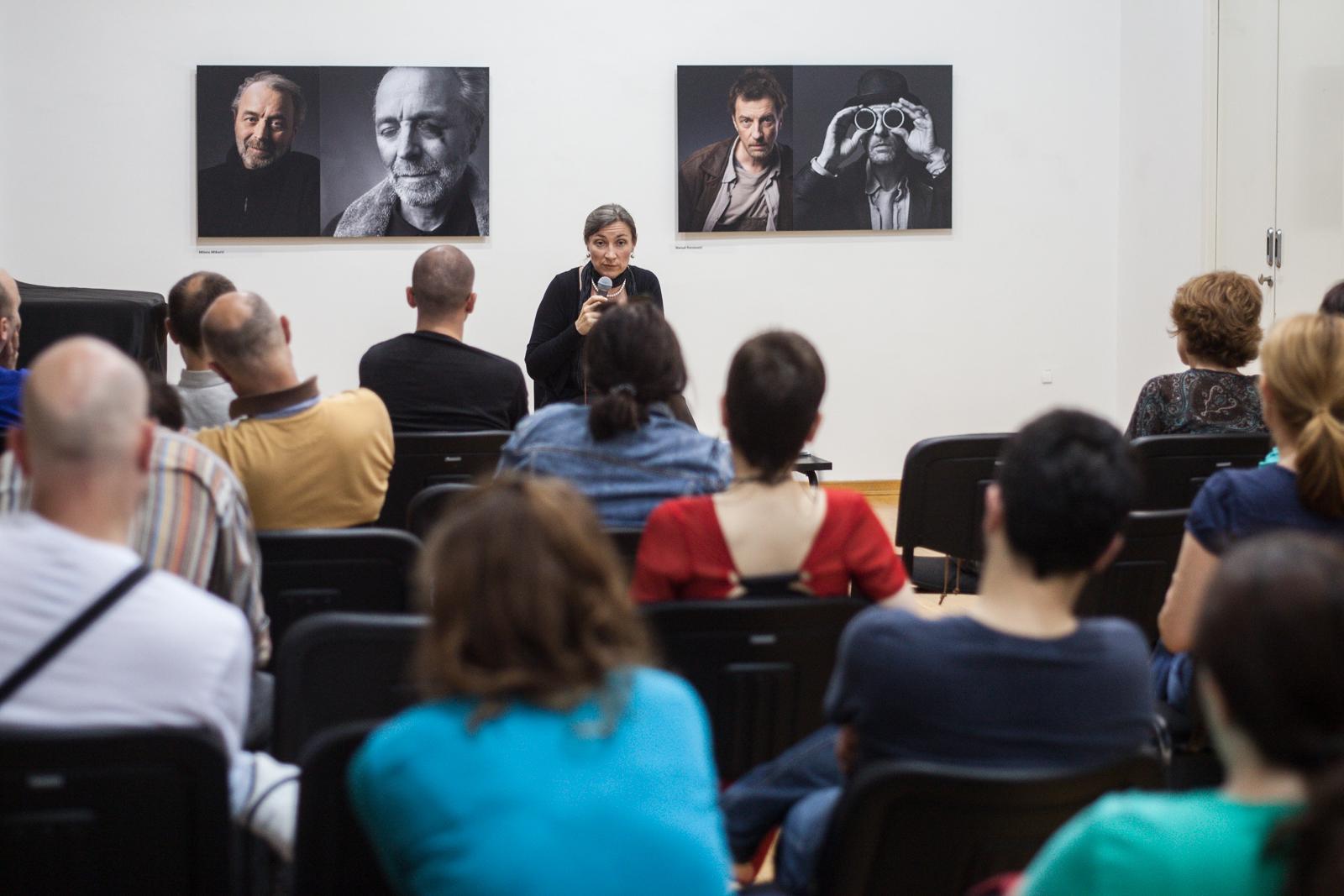 Tatjana Jukić Predavanje u Ciklusu O melanholiji 29 maj 2014 KCB Foto Srdjan Veljović (6).jpg