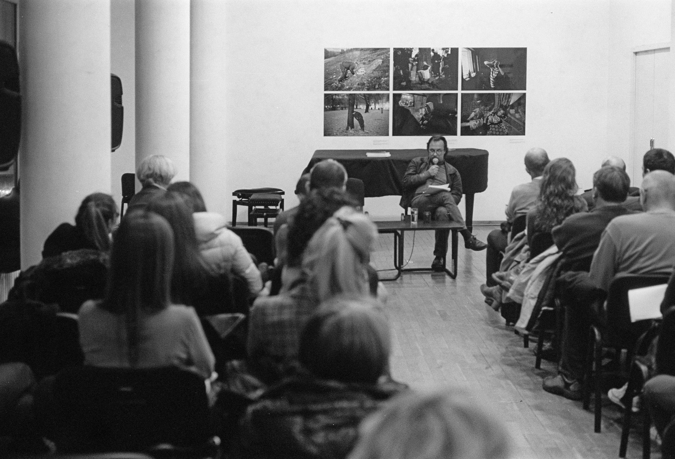 Tomislav Brlek Predavanje u ciklusu O melanholiji 26 novembar 2013 KCB Foto Srdjan Veljović (4).jpg
