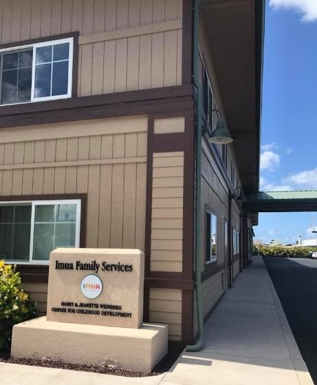 Imua Family Services' main headquarters in Kahului, Maui.