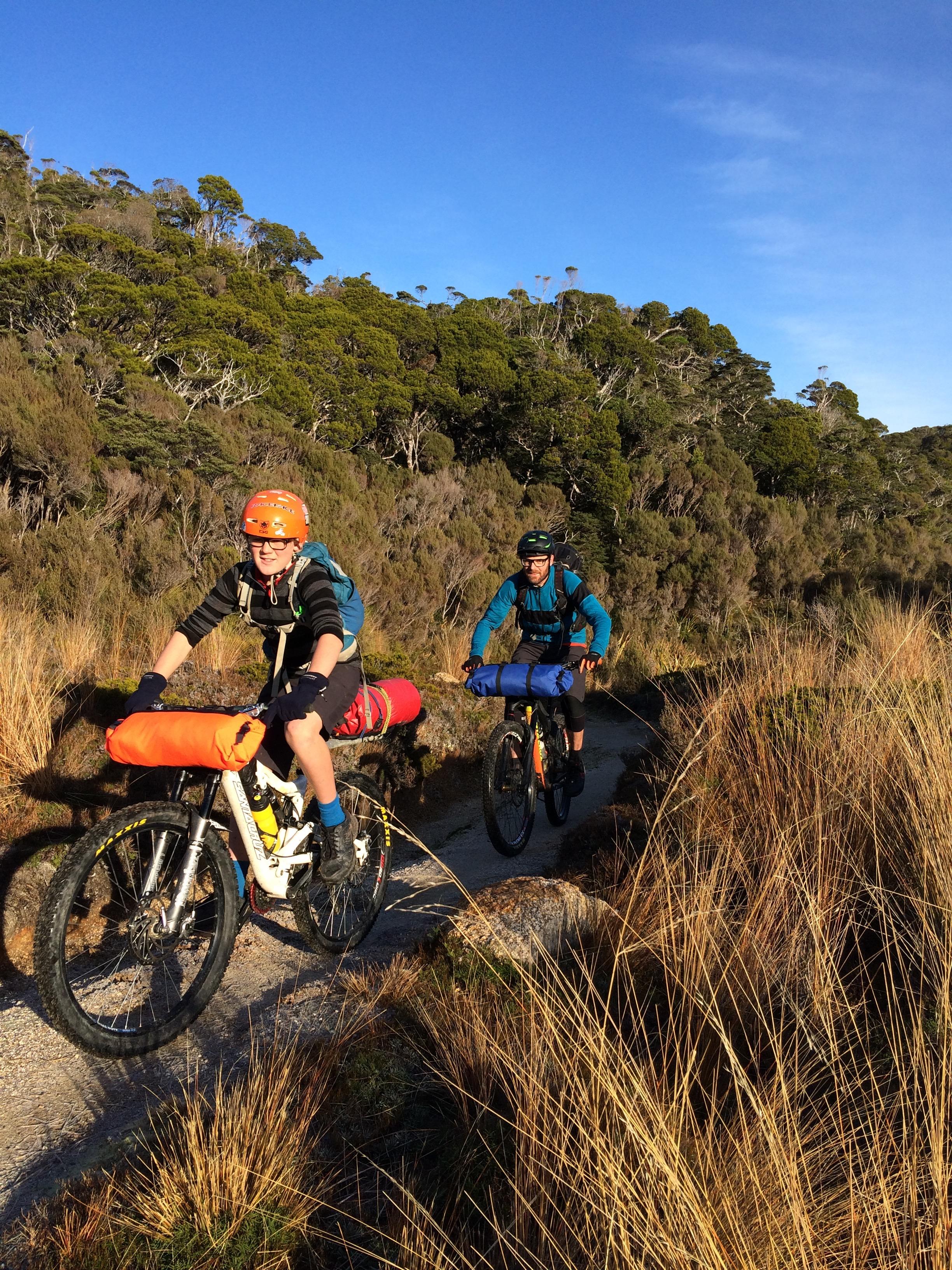 James Mackay Hut to Saxon Hut,Heaphy Track